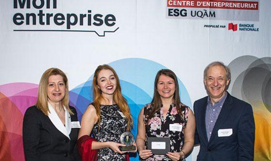 Concours Mon entreprise du Centre d'entrepreneuriat ESG UQÀM